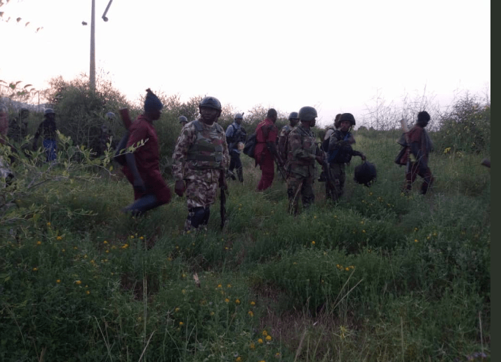 Nigerian military routs Boko Haram in Gwoza(photos)